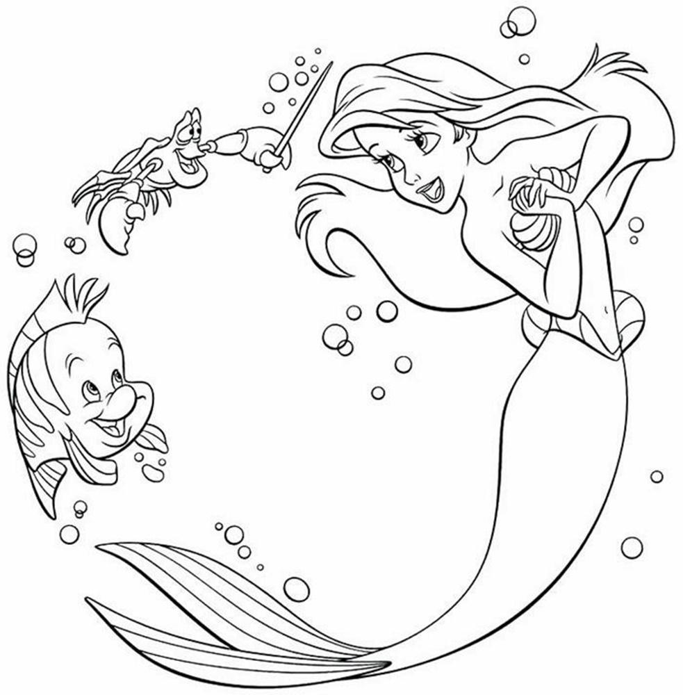 Giadinhsu.com - Tranh tô màu công chúa Ariel 062