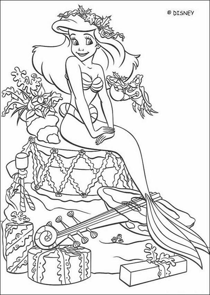 Giadinhsu.com - Tranh tô màu công chúa Ariel 067