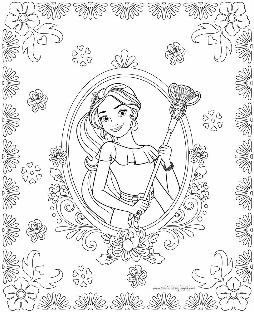 Giadinhsu.com - Tranh tô màu công chúa Elena - Elena xứ Avalor